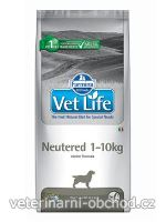 Psi - krmivo - Vet Life Natural DOG Neutered 1-10kg